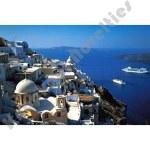 1000 Piece Puzzle: Santorini, Greece