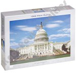 1000 Piece Puzzle: The Capital, Washington Dc