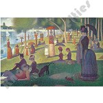 1000 Piece Puzzle: Sunday Afternoon On The Island Of La Grande Jatte