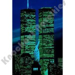 1000 Piece Glow-In-The-Dark Puzzle: World Trade Center, Usa