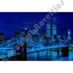 1000 Piece Glow-In-The-Dark Puzzle: Brooklyn Bridge, Usa