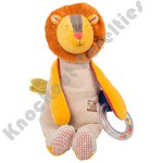 Lion Doll with Ring Rattle