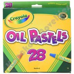 "28 ct. 2 15/16"" x 1/2"" Colored Oil Pastel Sticks"