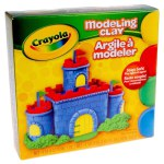 Four 1/4-lb. pcs. Modeling Clay - Red, Yellow, Blue, Green