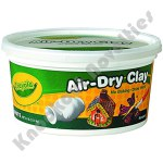 2.5-lb. Bucket Air-Dry Clay - White