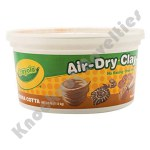 2.5-lb. Bucket Air-Dry Clay - Terra cotta
