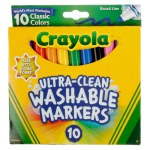 10 ct. Ultra-Clean Washable Classic Broad Line Color Max Markers