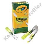 12 ct. Bulk Set Dual-Ended Erasable Highlighter
