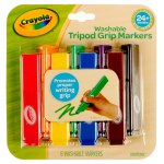 6 ct. My First Crayola Tripod Grip Markers