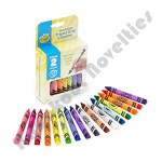 16 ct. My First Crayola Washable Washable Tripod Grip Stage 2 Crayons