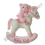 "12"" Baby Girl Rocking Horse Musical"