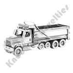 Metal Earth - Dump Truck-Freightliner