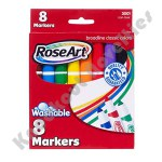 RoseArt: 8 Piece Washable Broadline Markers - Classic