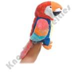 """12"""" Parrot Hand Puppet - Petey"""