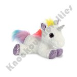 "12"" Flopsie - Rainbow Unicorn"