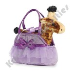 "7"" Fancy Pals Pet Carrier - Tutu Cute Giraffe"