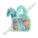 """7"""" Fancy Pals Pet Carrier -  Seahorse"""