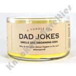 Dad Jokes Candle