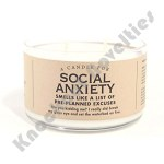 Social Anxiety Candle