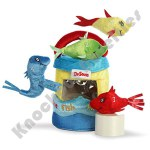 "4"" Plush Fish Dr. Seuss Fish Playset"