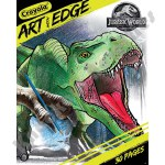 Art With Edge - Coloring Book Jurassic World II