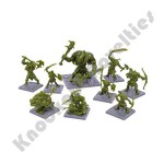 Dungeon Saga: The Green Rage Miniature Set