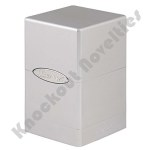 Deck Box: Satin Tower: Metallic Silver