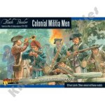 Black Powder: American War Of Independence: Colonial Militia Men
