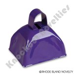 "(Dozen) 3"" Purple Metal Cowbell"