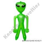 8' Jumbo Green Alien Inflate