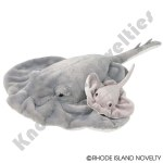 "22"" And 10"" Birth Of Life Ray Plush"