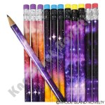 "(48 Pack) 7.5"" Galaxy Pencils"