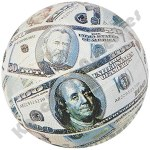 "7"" Money Mini Basketball"