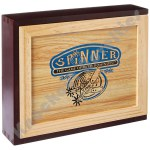 Spinner Dominoes - Wood Case