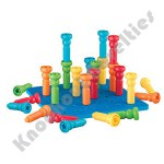 Tall-Stackers Peg & Pegboard Set