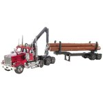Metal Earth ICONX - Western Star log truck & Trailer