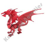 Metal Earth ICONX - Red Dragon