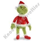 "19"" Grinch Santa"