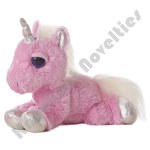 "10"" Dreamy Eyes Pink Unicorn - Heavenly"