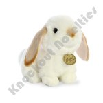 "8"" Miyoni Lop Eared Rabbit With Tan Ears"
