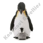 "12"" Emperor Penguin With Baby"