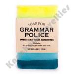 Grammer Police Soap