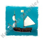 Blood & Plunder: Brigantine Ship (Resin)