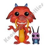 POP Disney: Mulan - Mushu & Cricket