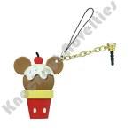 D-Lish Treats Phone Charm Keyring - Mickey Ice Cream