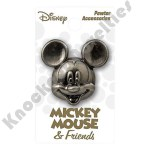 Deluxe Pewter Lapel Pin - Mickey Gang - Mickey