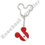 Mickey FLAG Icon Ball Key Ring - CANADA