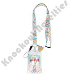 Lanyard with Soft Touch Dangle - Dumbo