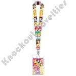 Lanyard with Card Holder - Princess