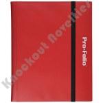 Binder: Pro-Folio 9 Pocket - Red